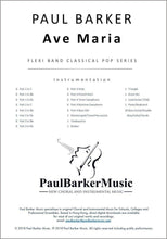 Load image into Gallery viewer, Ave Maria-Band-Paul Barker Music