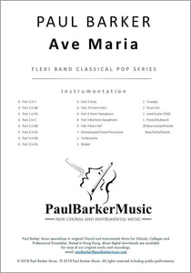 Ave Maria-Band-Paul Barker Music