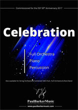 Load image into Gallery viewer, Celebration (Full Orchestra) - Paul Barker Music