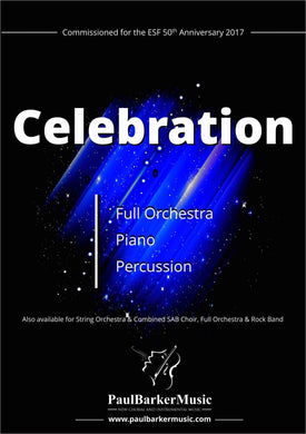 Celebration (Full Orchestra) - Paul Barker Music