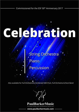 Celebration (String Orchestra) - Paul Barker Music