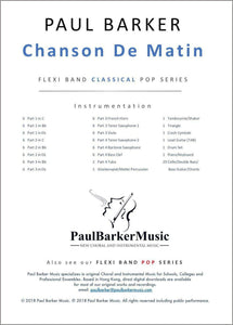 Chanson De Matin - Paul Barker Music