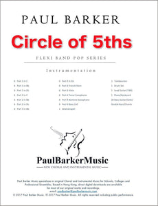 Circle Of 5ths - Paul Barker Music