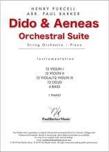 Load image into Gallery viewer, Dido & Aeneas Orchestral Suite - Paul Barker Music