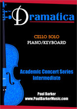 Load image into Gallery viewer, Dramatica (Cello & Piano)-Strings-Paul Barker Music