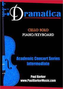 Dramatica (Cello & Piano)-Strings-Paul Barker Music