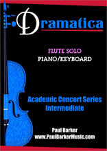 Load image into Gallery viewer, Dramatica (Flute & Piano) - Paul Barker Music