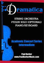 Load image into Gallery viewer, Dramatica For String Orchestra-Orchestral-Paul Barker Music