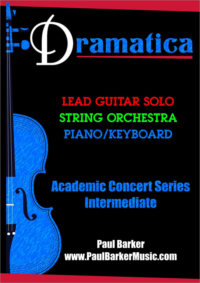 Dramatica (Lead Guitar & String Orchestra) - Paul Barker Music