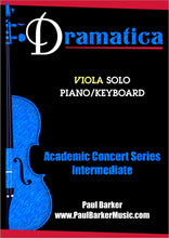 Load image into Gallery viewer, Dramatica (Viola & Piano)-Strings-Paul Barker Music