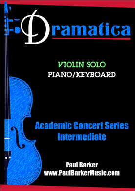 Dramatica (Violin & Piano) - Paul Barker Music
