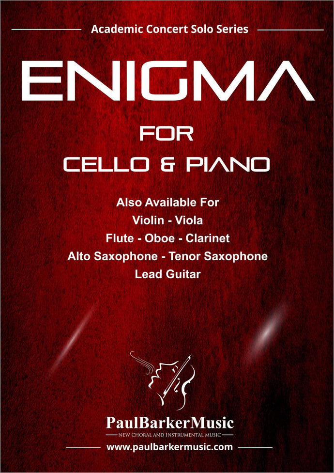 Enigma (Cello & Piano) - Paul Barker Music