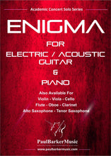 Load image into Gallery viewer, Enigma (Lead & Acoustic Guitar)-Guitar-Paul Barker Music