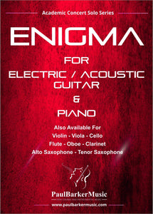 Enigma (Lead & Acoustic Guitar)-Guitar-Paul Barker Music