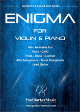 Load image into Gallery viewer, Enigma (Violin & Piano) - Paul Barker Music