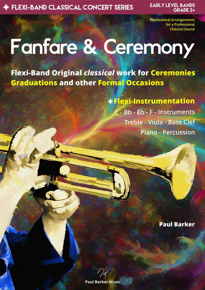 Fanfare & Ceremony-Band-Paul Barker Music