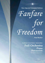 Load image into Gallery viewer, Fanfare For Freedom (Special Extended Edition)-Orchestral-Paul Barker Music