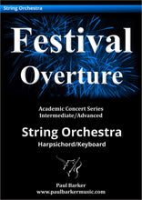 Load image into Gallery viewer, Festival Overture-Orchestral-Paul Barker Music