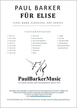 Load image into Gallery viewer, Für Elise - Paul Barker Music