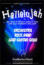 Load image into Gallery viewer, Hallelujah! (Rock/Fusion Orchestra) - Paul Barker Music