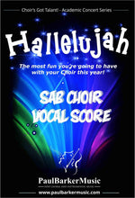 Load image into Gallery viewer, Hallelujah! (SAB Choir & Rock/Fusion Orchestra) - Paul Barker Music