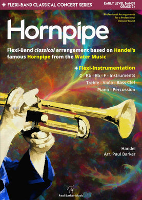 Hornpipe (from the Water Music) Band Paul Barker Music Conductor Score