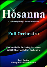 Load image into Gallery viewer, Hosanna (Full Orchestra) - Paul Barker Music