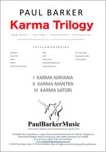 Load image into Gallery viewer, Karma Trilogy-Choral-Paul Barker Music