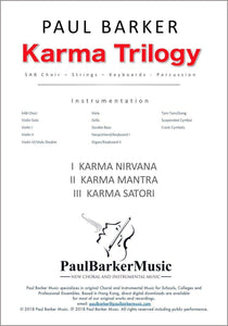 Karma Trilogy - Paul Barker Music
