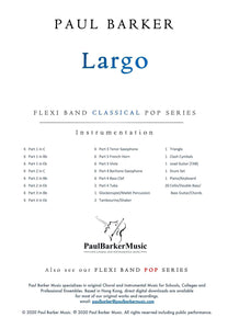 Largo (from the New World Symphony) Band Paul Barker Music
