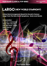 Load image into Gallery viewer, Largo (from the New World Symphony) Band Paul Barker Music Conductor Score