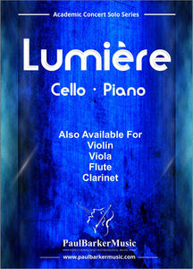 Lumiere (Cello & Piano)-Strings-Paul Barker Music