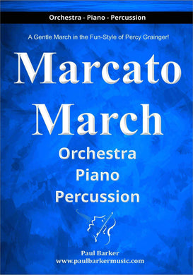 Marcato March - Paul Barker Music