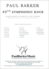 Load image into Gallery viewer, Mozart's 40th Symphonic Rock - Paul Barker Music