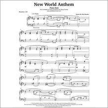 Load image into Gallery viewer, New World Anthem - Paul Barker Music