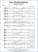 Load image into Gallery viewer, New World Anthem (String Quintet) - Paul Barker Music