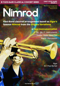 Nimrod (Enigma Variations) Band Paul Barker Music Conductor Score