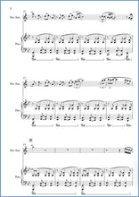 Load image into Gallery viewer, Parallel Lines (Tenor Saxophone & Piano)-Woodwind-Paul Barker Music
