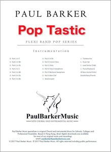 Pop Tastic-Band-Paul Barker Music
