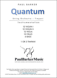 Quantum - Paul Barker Music