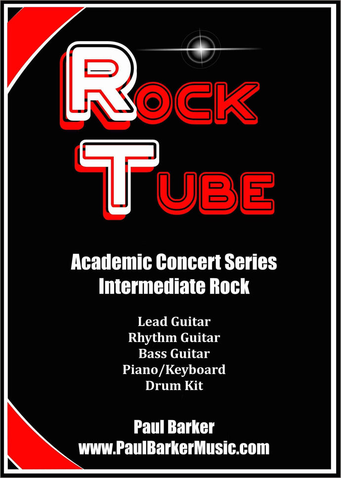Rock Tube (Lead Guitar & Rock Band)-Guitar-Paul Barker Music