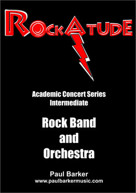 RockAtude (Rock/Fusion Orchestra Feat. Lead Guitar) - Paul Barker Music