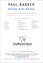 Load image into Gallery viewer, Rondo Alla Swing - Paul Barker Music