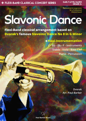 Slavonic Dance No 8 In G Minor Band Paul Barker Music Conductor Score