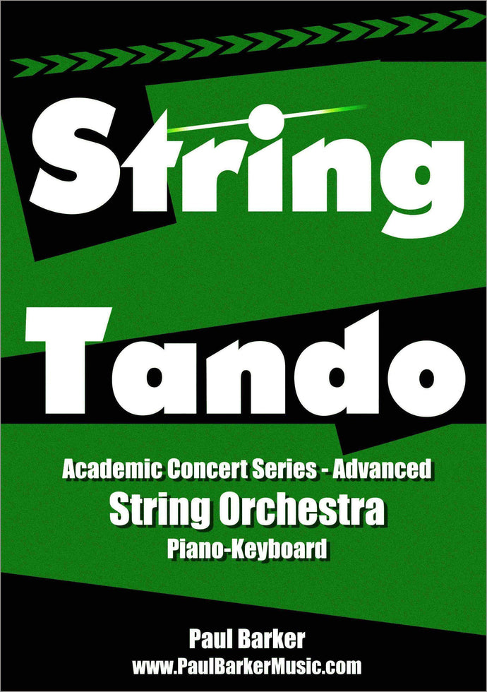 Stringtando (String Orchestra)-Orchestral-Paul Barker Music