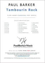 Load image into Gallery viewer, Tambourin Rock - Paul Barker Music