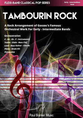 Tambourin Rock - Paul Barker Music
