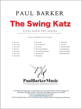 Load image into Gallery viewer, The Swing Katz - Paul Barker Music