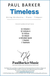 Timeless - Paul Barker Music