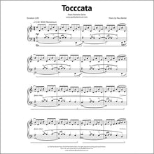Load image into Gallery viewer, Toccata-Piano-Paul Barker Music